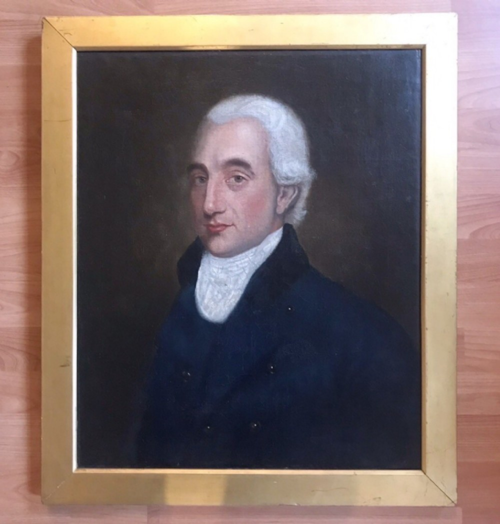 oil portrait paintings of a gentleman english school hunt master c1803